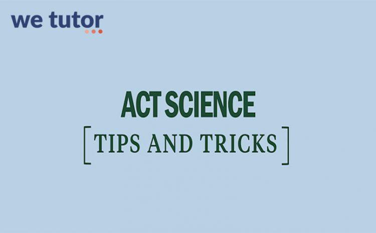 phần thi khoa học trong act